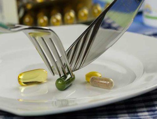integratori alimentari in pillole