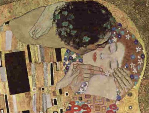 Quadro il bacio di Klimt