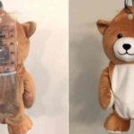 Medi Teddy orso nascondi flebo