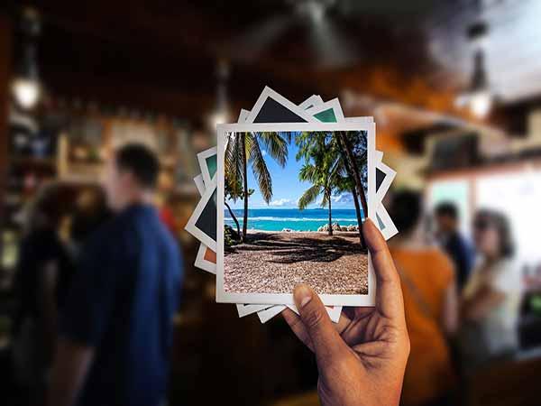 Fotografie di vacanze al mare